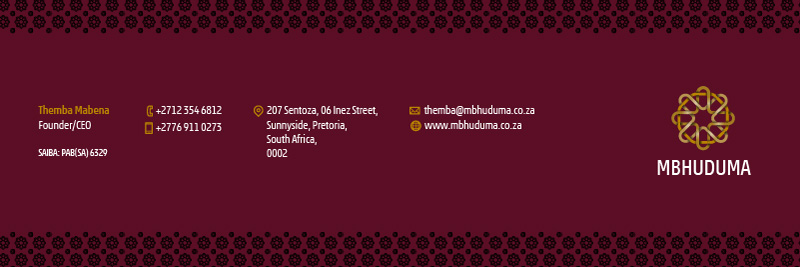 Mbhuduma Business Solutions